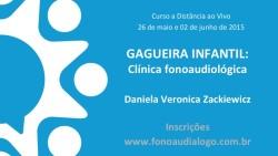 Curso sobre Gagueira Infantil